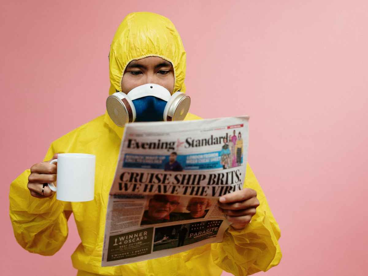 Coffee, Corona, and the News